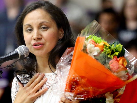 North's Monterrey named State's High School Teacher of the Year
