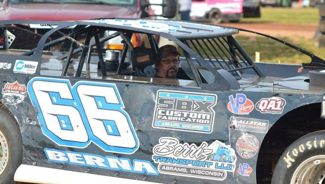 Green Bay native Ron Berna plans to compete with the World of Outlaw late models Tuesday for the Sundrop Shootout at Shawano Speedway.