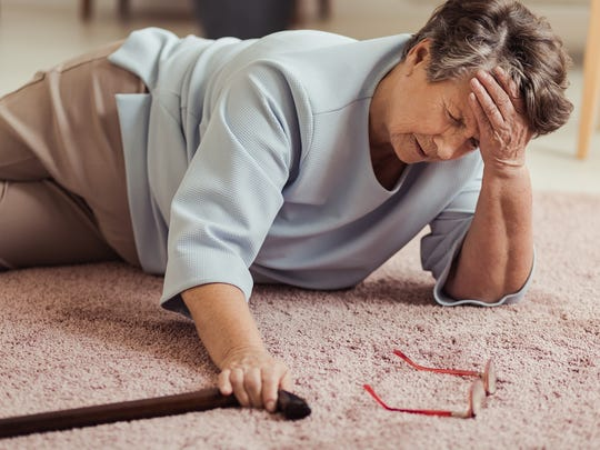 Aging parents' homes should be made safer to reduce their risk of falling.