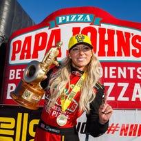 Leah Pritchett wins season-opening Circle K NHRA Winternationals