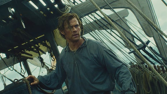 Chris Hemsworth in 'In the Heart of the Sea.'