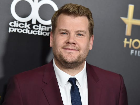 AP PEOPLE JAMES CORDEN A FILE ENT USA CA