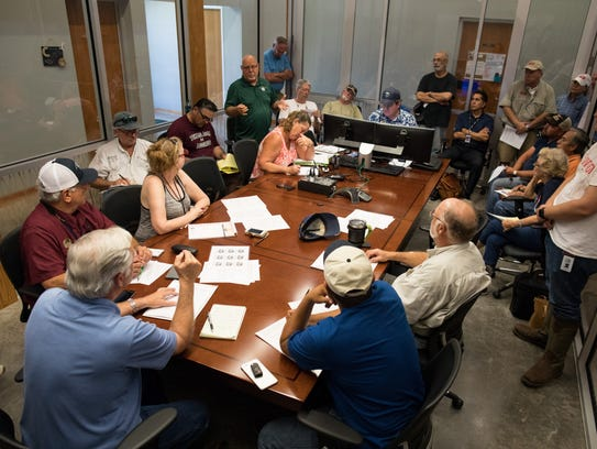 Rockport City Council holds an emergency meeting regarding