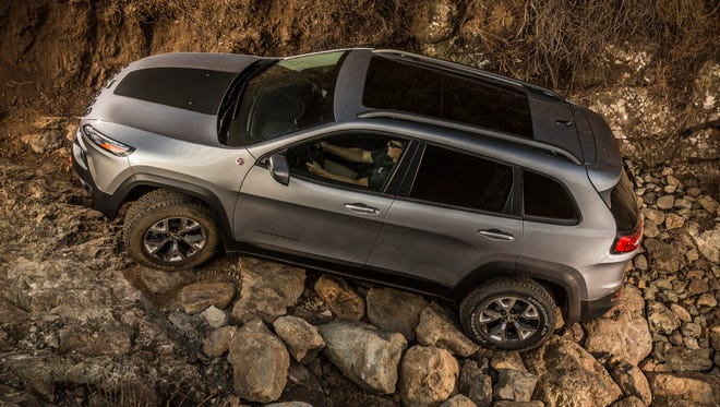 Chrysler's 2014 Jeep Cherokee doesn't look much like a Fiat, but its underpinnings are derived from Fiat's Alfa Romeo brand, and are shared with Chrysler's Dodge Dart. Cherokee has been a sales hit, contributing to Chrysler's earnings.