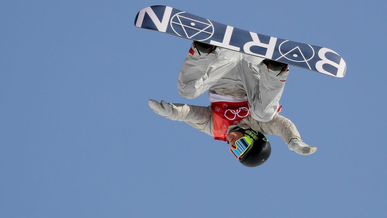 Upside down may not be a usual perspective for most of us, but at the Pyeongchang Olympic Games, many athletes see the competition that way. (Feb. 23)