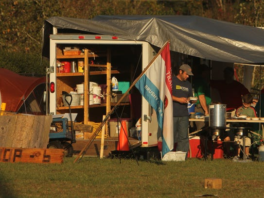 A Chesnee-based Trail Life troop campsite at the Belton