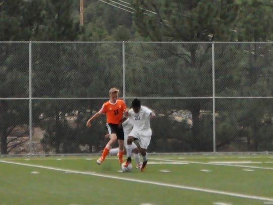 The RHS boys soccer team will at 6:30 p.m. Thursday