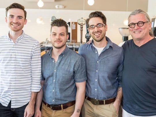 Sean Stewart, Nathanael Mehrens, Jamie Cunningham and
