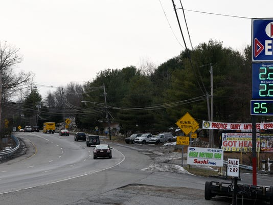 Route 23 S curves
