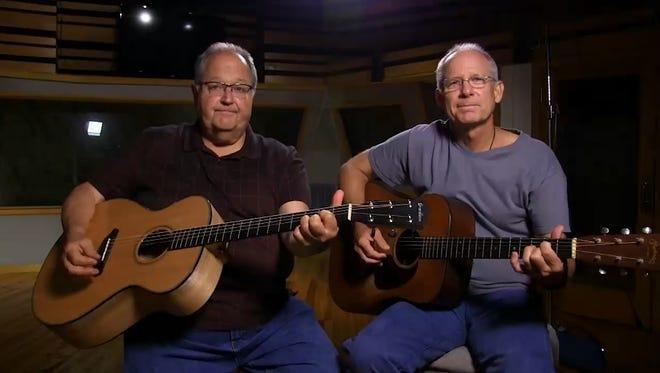Steve Seskin, left, and Allen Shamblin