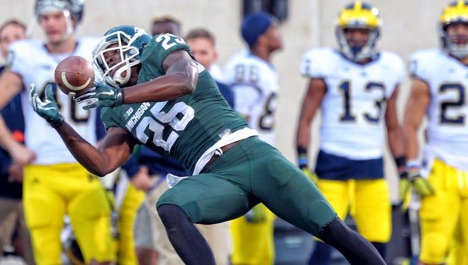 Michigan State WR Keith Mumphery.