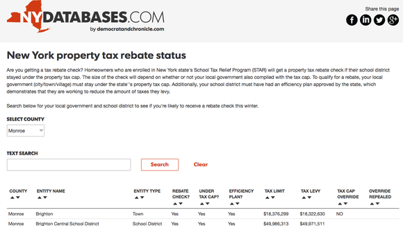 Here's our database to check on whether you have a rebate check coming.