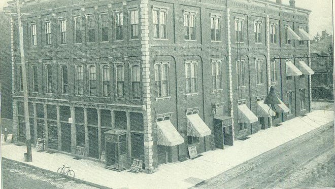 The Arlington Hotel, built in the late 1860s as a wholesale grocery store, was refurbished and debuted as a hotel in 1877. Torn down in 1956, the site where it used to be now is the west-side parking lot to the building that housed Maria Mitrione's Italian Market and Joe's Pizza.