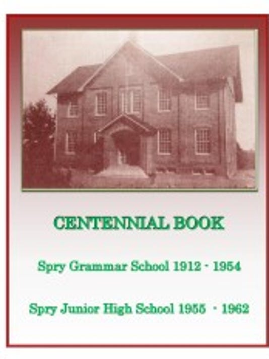 The Spry Grammar School Reunion Committee put together this commemorative book for the 100th anniversary of the school's opening. (Submitted photo)