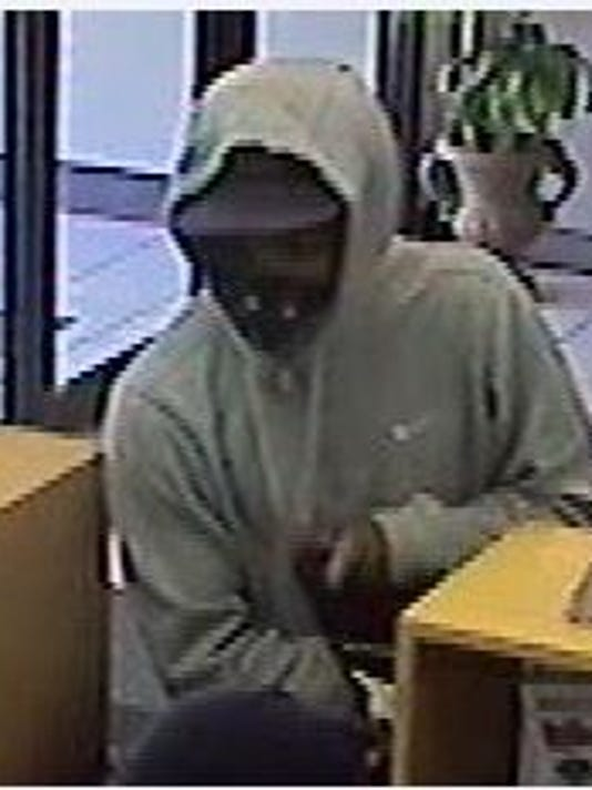 Valley Junction bank robbery suspect