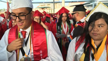 Desert Mirage High School graduation