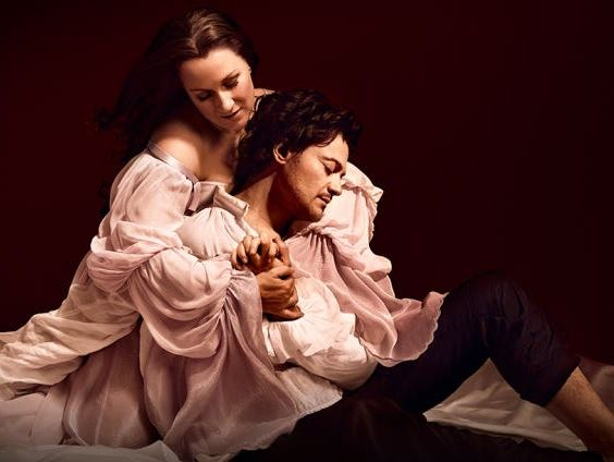 """Enter for your chance to win a pair of tickets to see the LIVE stream of Met Operas """"Roméo et Juliette""""."""