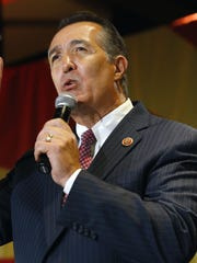 The exit from Congress by U.S. Rep. Trent Franks, amid