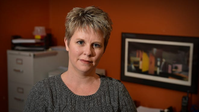 Melissa Onstad is CEO of Medical Solutions Home Care, Inc., in St. Cloud. She was photographed Jan. 28.