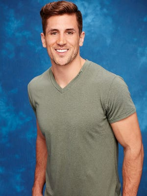 """Jordan Rodgers scored the first impression rose on the season premiere of """"The Bachelorette."""""""