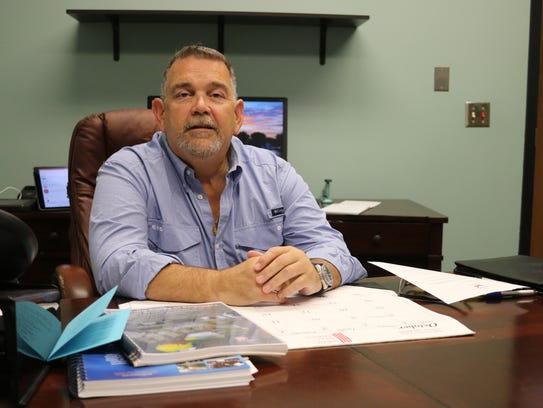 Olen Martin, Port Clinton's new safety-service director,
