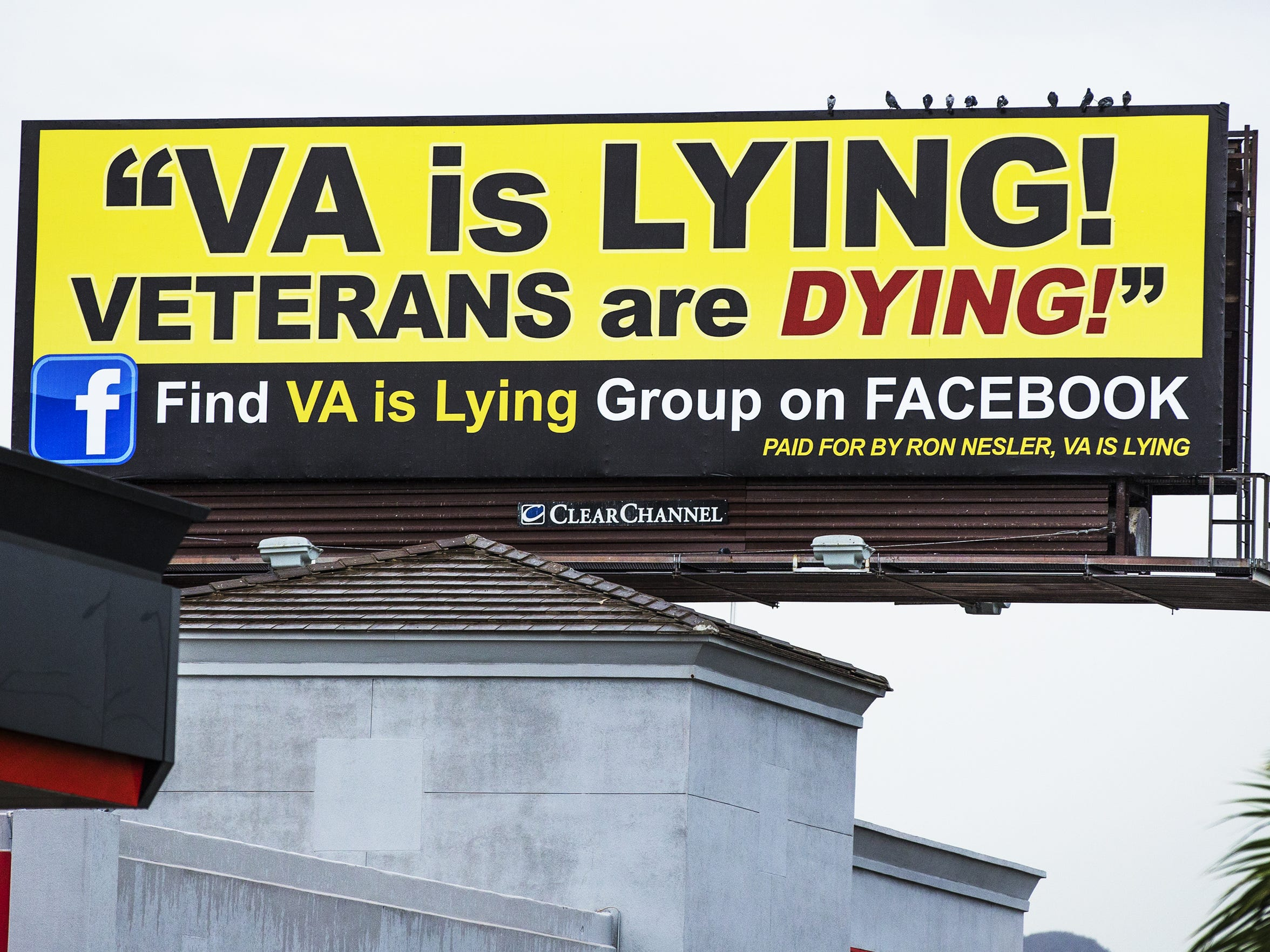Ron Nesler of Indiana became so incensed with VA care