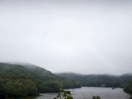 A scenic view of Saint Anthony's ridge in the Kittatinny Ridge Corridor. The Lebanon Valley Conservancy is joining with the Nature Conservancy and five other Pennsylvania land trust organizations to protect the Kittatinny Ridge.