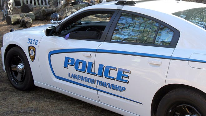 A Lakewood Township police car in this Asbury Park Press file photo from November 2013.