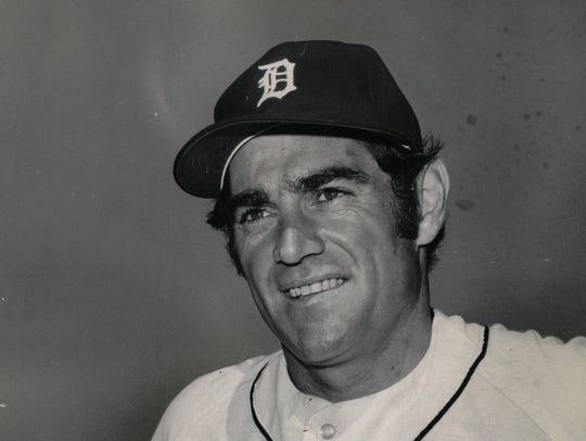 Dick McAuliffe, an infielder for the 1968 World Series