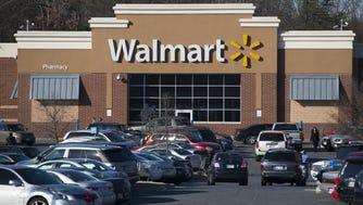 A Walmart store  in Landover, Maryland.