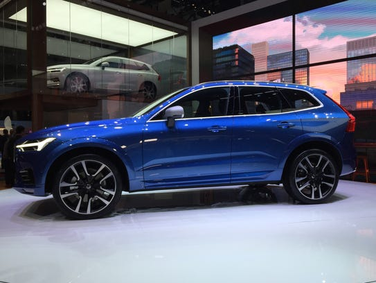 The Volvo XC60 midsize crossover