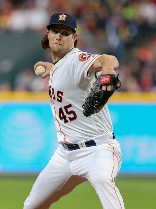 MLB: San Diego Padres at Houston Astros