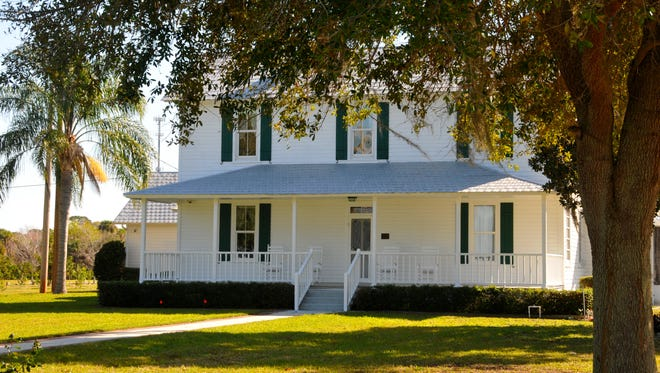 Merritt Island's Field Manor is a historic 19th century waterfront homestead, grove and farm.