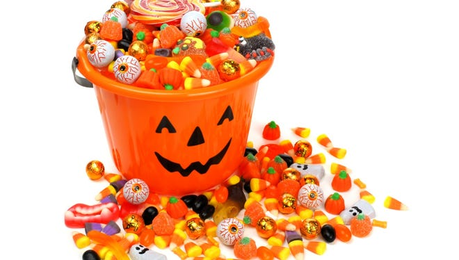 Halloween candy.