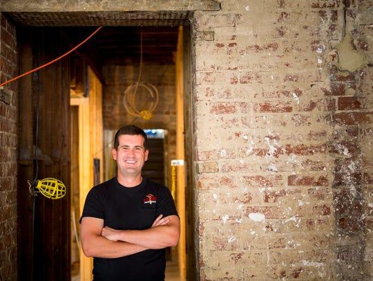 Matt Woods, chief operating officer of Woods Hardware,