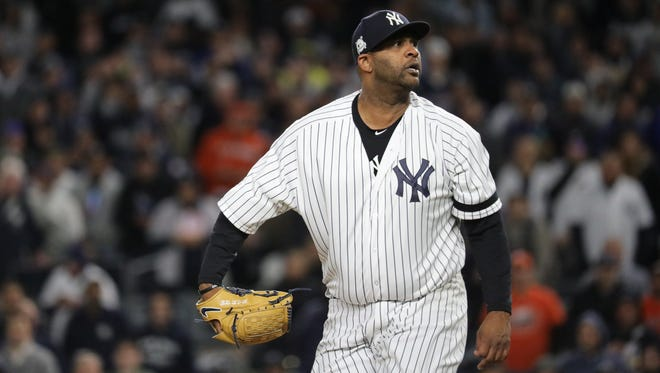 CC Sabathia will be back in New York on a one-year deal.
