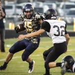 Bryce Thelen, left, and Pewamo-Westphalia have outscored opponents 257-0 in their four CMAC games this season.