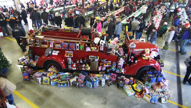 The Stayton Fire District's Santa Cruise, being held this year on Dec. 2, is the largest fundraiser of the year for Toys for Joy.