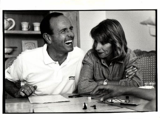 Dick and Betsy DeVos, photographed in 1992.