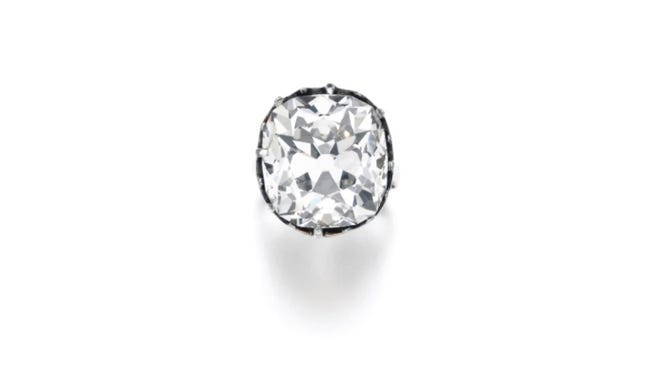 A ring purchased at an outdoor market in the 80s, sold for thousands at Sotheby's auction in London on Wednesday.
