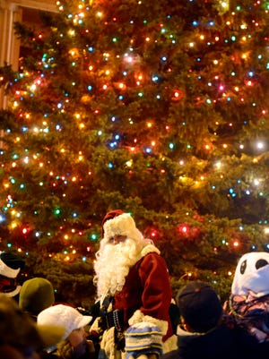 Tonight's Parade of Lights has been canceled due to the weather.
