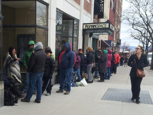 Convergence: The line for Neil Young tickets grows