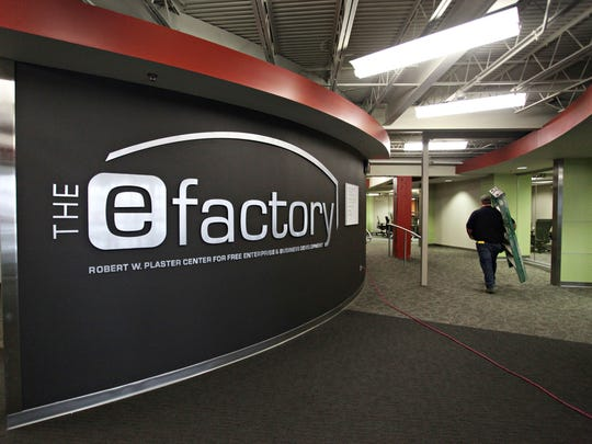 The eFactory is located at 405 N. Jefferson Ave. in