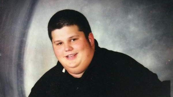 Rich Branscum said he gained weight because he ate when he was sad after his father died.