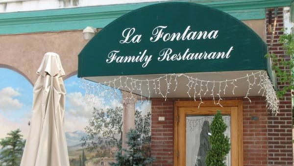La Fontana restaurant in Nyack, where a sick worker prompted vaccinations against hepatitis A.
