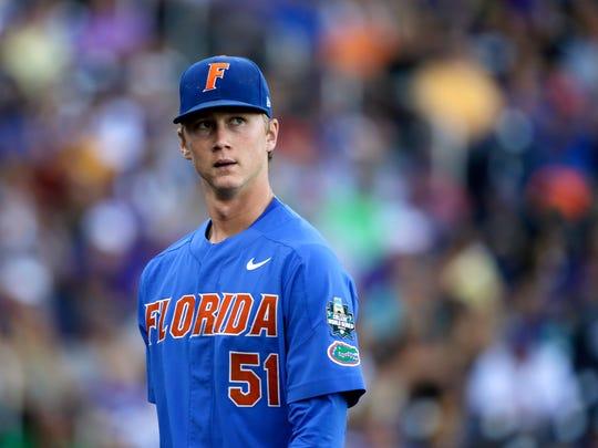 Florida pitcher Brady Singer.