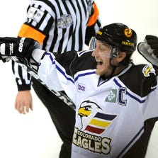 Colorado Eagles captain Riley Nelson announced his retirement Tuesday, Sept. 16 after playing a part in all 11 seasons in franchise history. He leaves as the leading scorer in club history and won two Central Hockey League titles.