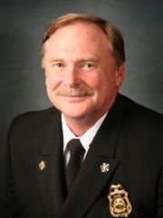 Stayton Fire District Chief Jack Carriger