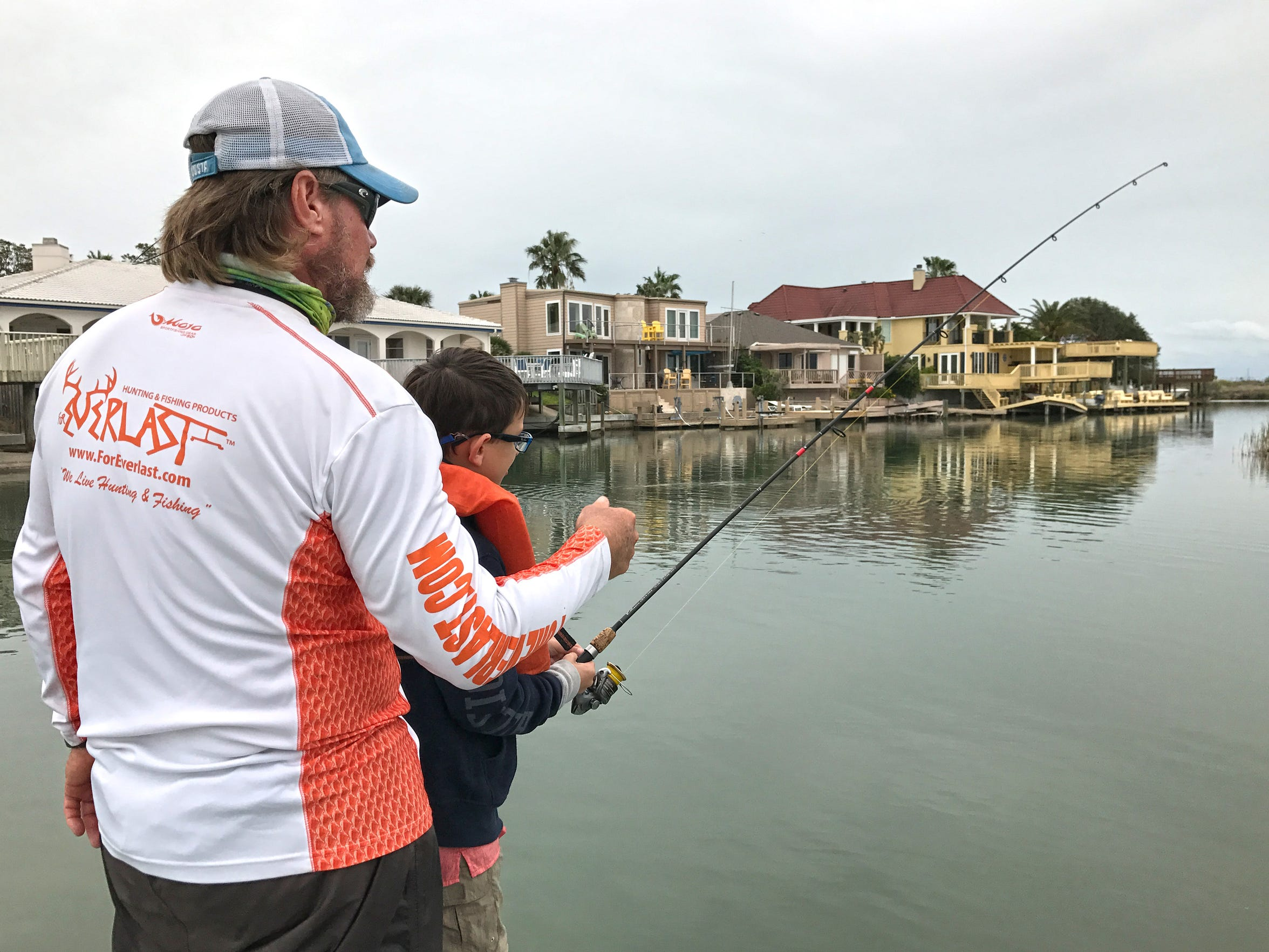 Most family fishing guides know from experience how to maintain a child's interest and focus.