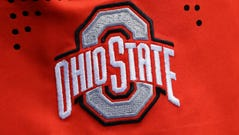 A view of the Ohio State Buckeyes logo.
